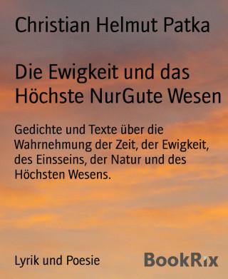 Christian Helmut Patka: Die Ewigkeit und das Höchste NurGute Wesen