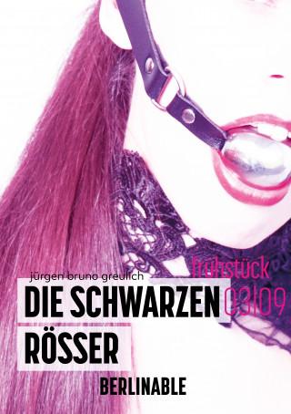 Jürgen Bruno Greulich: Die schwarzen Rösser - Folge 3