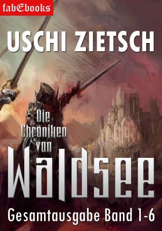 Uschi Zietsch: Die Chroniken von Waldsee Band 1-6: 2628 Seiten