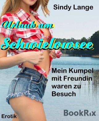 Sindy Lange: Urlaub am Schwielowsee