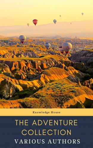 Jonathan Swift, Jack London, Rudyard Kipling, Howard Pyle, Robert Louis Stevenson, knowledge house: The Adventure Collection: Treasure Island, The Jungle Book, Gulliver's Travels, White Fang...