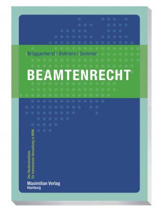 Sven Brüggenhorst, Thomas Behrens, Peter Sommer: Beamtenrecht