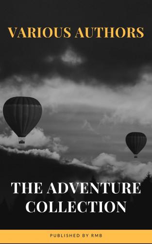 Jonathan Swift, Jack London, Rudyard Kipling, Howard Pyle, Robert Louis Stevenson, RMB: The Adventure Collection: Treasure Island, The Jungle Book, Gulliver's Travels, White Fang...