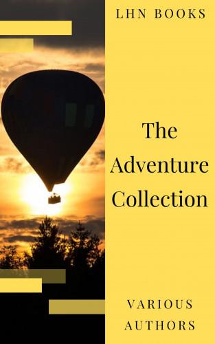 Jonathan Swift, Jack London, Rudyard Kipling, Howard Pyle, Robert Louis Stevenson, LHN Books: The Adventure Collection: Treasure Island, The Jungle Book, Gulliver's Travels, White Fang...