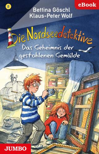 Bettina Göschl, Klaus-Peter Wolf: Die Nordseedetektive. Das Geheimnis der gestohlenen Gemälde