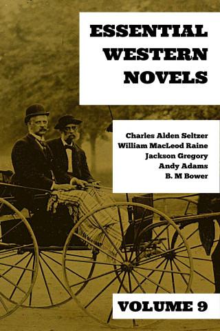 Charles Alden Seltzer, William MacLeod Raine, Jackson Gregory, Andy Adams, B. M. Bower: Essential Western Novels - Volume 9