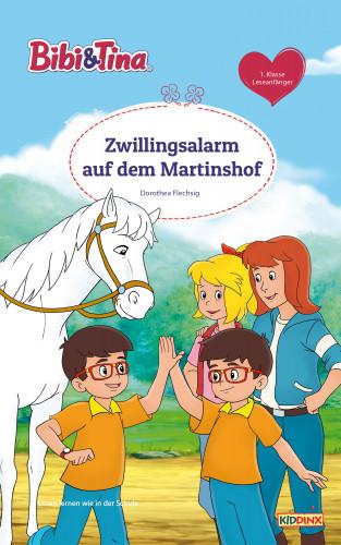 Dorothea Flechsig: Bibi & Tina - Zwillingsalarm auf dem Martinshof