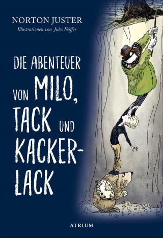 Norton Juster: Die Abenteuer von Milo, Tack und Kackerlack