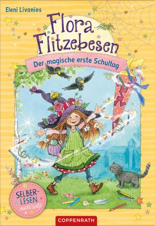 Eleni Livanios: Flora Flitzebesen (Bd. 1 für Leseanfänger)