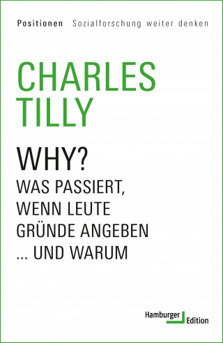Charles Tilly: Why?