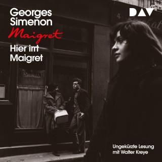 Georges Simenon: Hier irrt Maigret (Ungekürzt)