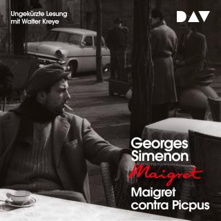 Georges Simenon: Maigret contra Picpus (Ungekürzt)