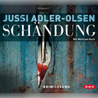 Jussi Adler-Olsen: Schändung (Lesung)