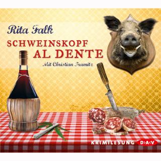 Rita Falk: Schweinskopf al dente (Lesung)
