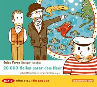 Jules Verne: 20,000 Meilen unter dem Meer