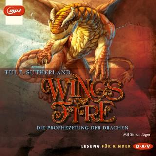 Tui T. Sutherland: Wings of Fire, Teil 1: Die Prophezeiung der Drachen