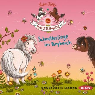 Suza Kolb: Die Haferhorde, Teil 4: Schmetterlinge im Ponybauch (Ungekürzt)