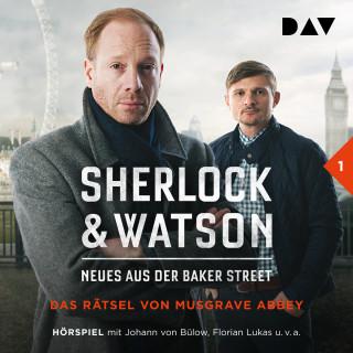 Viviane Koppelmann: Sherlock & Watson - Neues aus der Baker Street, Folge 1: Das Rätsel von Musgrave Abbey