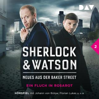 Viviane Koppelmann: Sherlock & Watson - Neues aus der Baker Street, Folge 2: Ein Fluch in Rosarot