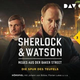 Viviane Koppelmann: Sherlock & Watson - Neues aus der Baker Street, Folge 3: Die Spur des Teufels