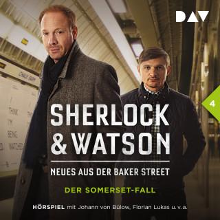 Nadine Schmid: Sherlock & Watson - Neues aus der Baker Street, Folge 4: Der Somerset-Fall