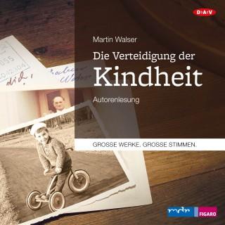 Martin Walser: Die Verteidigung der Kindheit (Autorenlesung)