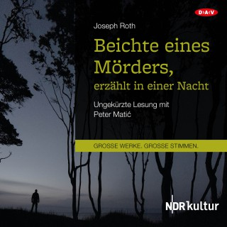 Joseph Roth: Beichte eines Mörders, erzählt in einer Nacht (Ungekürzte Lesung)