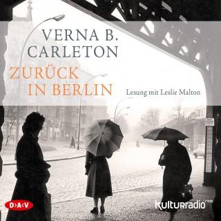 Verna B. Carleton: Zurück in Berlin (Lesung)