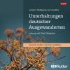 Johann Wolfgang von Goethe: Unterhaltungen deutscher Ausgewanderten