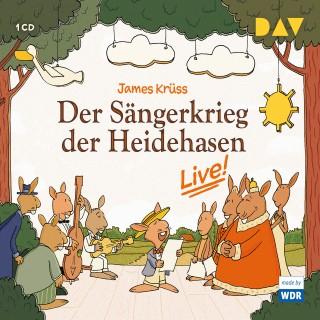 James Krüss: Der Sängerkrieg der Heidehasen - Live! (Hörspiel)