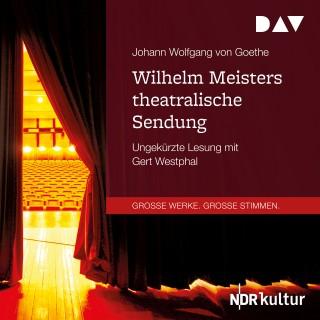 Johann Wolfgang von Goethe: Wilhelm Meisters theatralische Sendung (Ungekürzt)