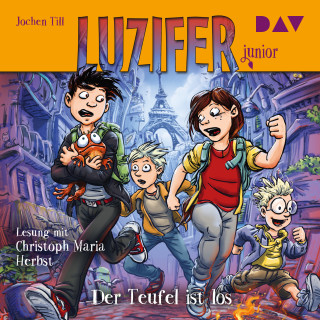 Jochen Till: Der Teufel ist los - Luzifer Junior, Teil 4 (Gekürzt)