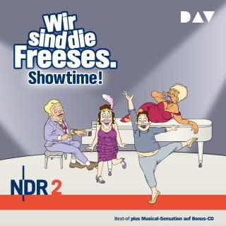 Andreas Altenburg: Wir sind die Freeses - Showtime! (Hörspiel)