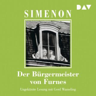 Georges Simenon: Der Bürgermeister von Furnes (Ungekürzt)