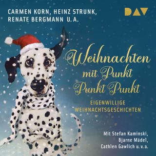 Carmen Horn, Heinz Strunk, Renate Bergmann: Weihnachten mit Punkt Punkt Punkt. Eigenwillige Weihnachtsgeschichten (Ungekürzt)