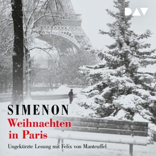 Georges Simenon: Weihnachten in Paris (Ungekürzt)