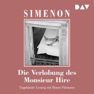 Georges Simenon: Die Verlobung des Monsieur Hire (Ungekürzt)