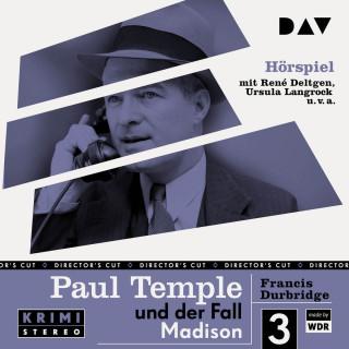 Francis Durbridge: Paul Temple und der Fall Madison (Original-Radio-Fassung) (Ungekürzt)