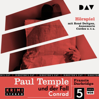 Francis Durbridge: Paul Temple und der Fall Conrad (Original-Radio-Fassung) (Ungekürzt)