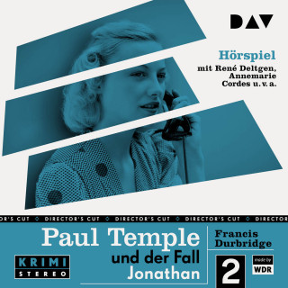Francis Durbridge: Paul Temple und der Fall Jonathan (Original-Radio-Fassung) (Ungekürzt)