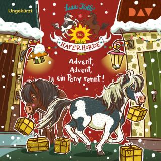 Suza Kolb: Advent, Advent, ein Pony rennt! - Die Haferhorde, Teil 16 (Ungekürzt)