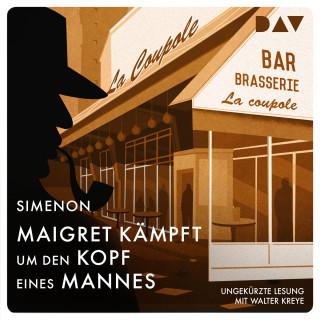 Georges Simenon: Maigret kämpft um den Kopf eines Mannes (Ungekürzt)