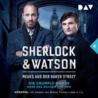 Viviane Koppelmann: Sherlock & Watson - Neues aus der Baker Street, Folge 6: Die Crumply-Morde oder Das Zeichen der Vier