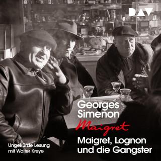 Georges Simenon: Maigret, Lognon und die Gangster (Ungekürzt)