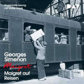 Georges Simenon: Maigret auf Reisen (Ungekürzt)