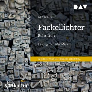 Karl Kraus: Fackellichter. Schriften (Gekürzt)