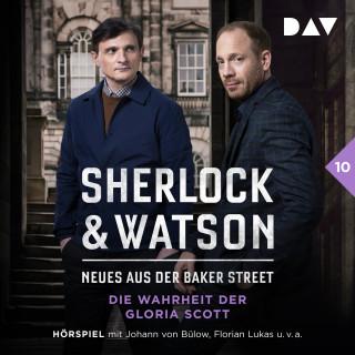 Viviane Koppelmann: Sherlock & Watson - Neues aus der Baker Street, Fall 10: Die Wahrheit der Gloria Scott