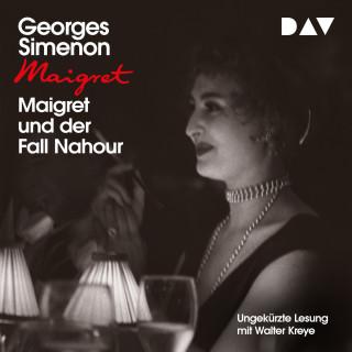 Georges Simenon: Maigret und der Fall Nahour (Ungekürzt)