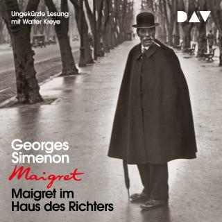 Georges Simenon: Maigret im Haus des Richters (Ungekürzt)