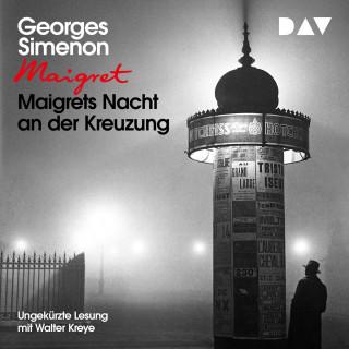 Georges Simenon: Maigrets Nacht an der Kreuzung (Ungekürzt)